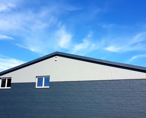 Der Firmensitz der Hinnerk für's Dach GmbH in Schneverdingen am Hoornsfeld 9.